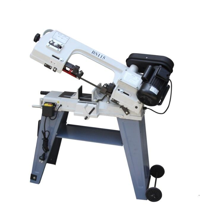 BS115 metal cutting band saw machine for household use