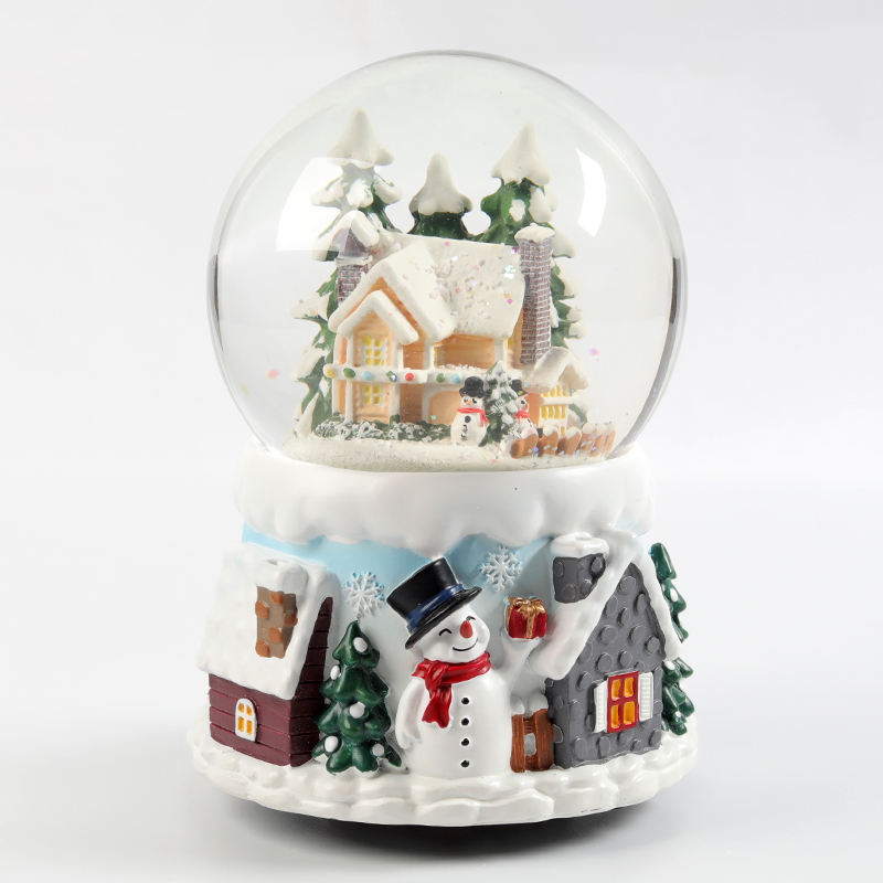Music [ Water Globe ] Custom Christmas Water Snow Globe For Souvenir