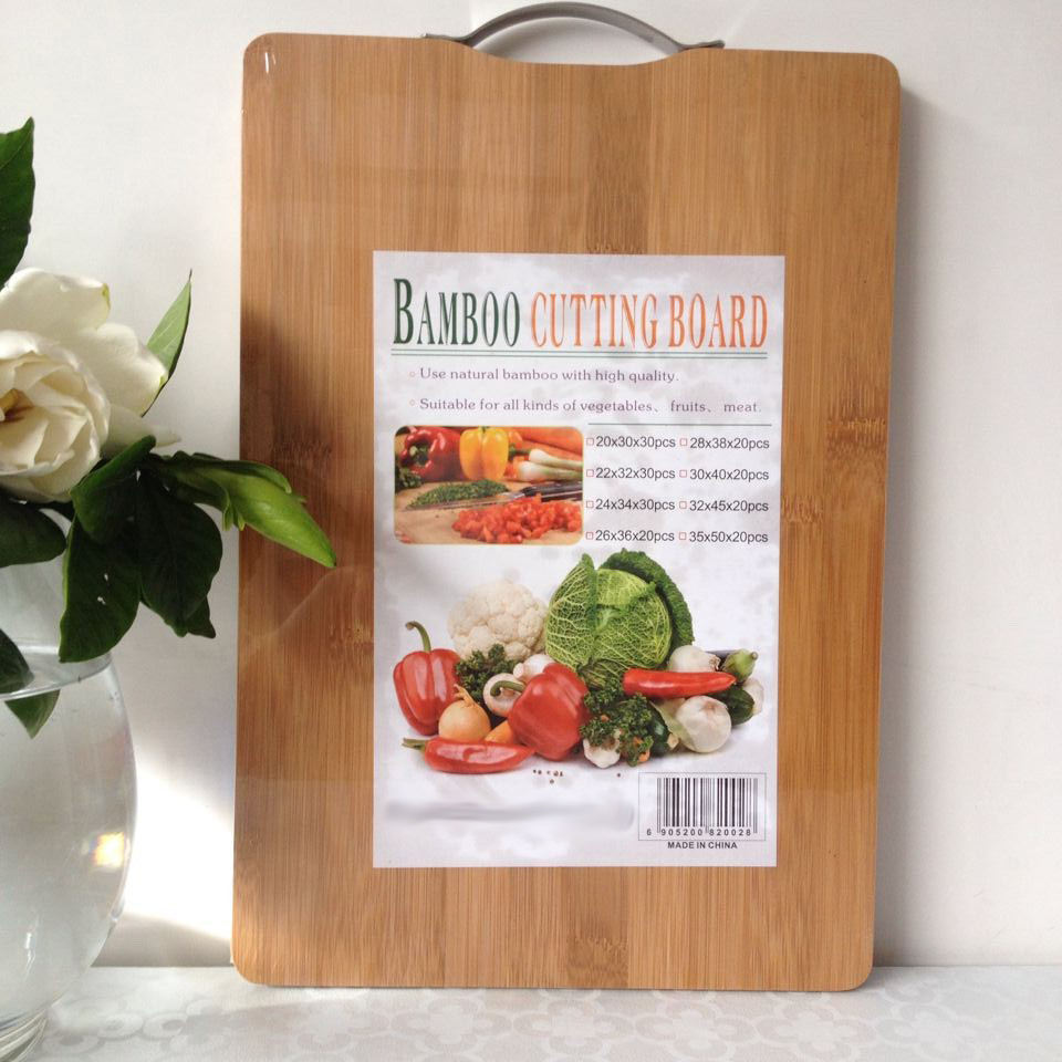 Wholesale kitchen bamboo cutting board / bamboo sandwich cutting board/bamboo cheese board