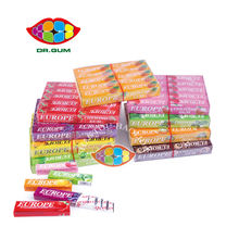 Hot Sale  Europe 5 Stick Chewing Gum Candy