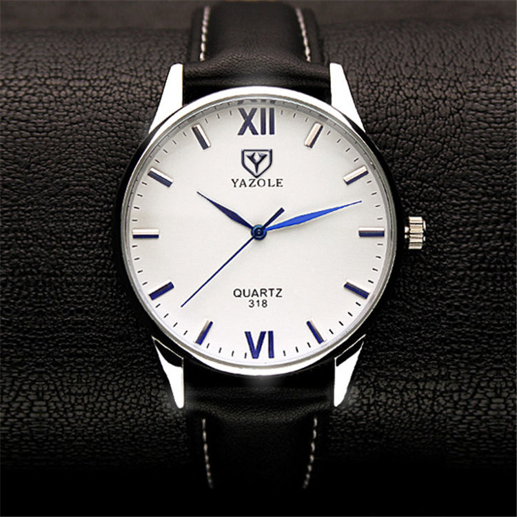 YAZOLE 318 Wrist Watch Men Brand Luxury Famous Wristwatch Male Clock Quartz Watch Hodinky Quartz watch Relogio Masculino