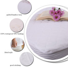 Bed Bug Antimicrobial Baby Crib Bed Mattress Cover Protector