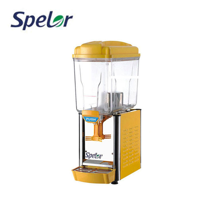 Verse Oranje Sap Dispenser enkele tank sap dispenser