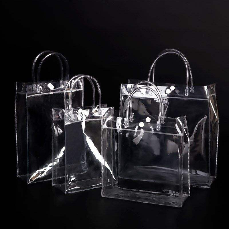 China factory multi dimension 24 size options custom transparent plastic PVC bag