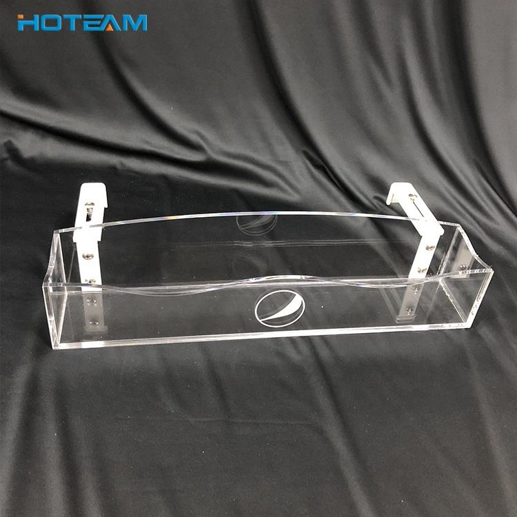 Wholesale Clear PETG Cooler Door Beverage Display Rack