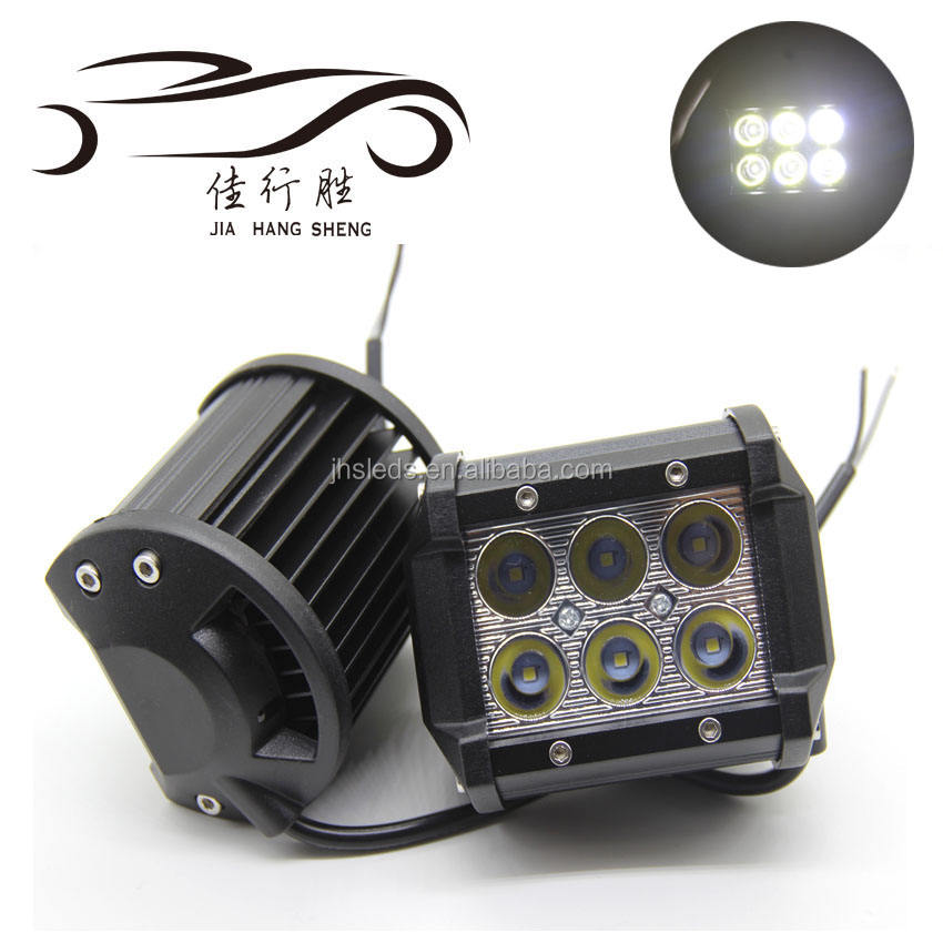"Good 6 Inch Auto Electrical System 18W Working Lamp 6"" Led Portable Work Light For Truck"