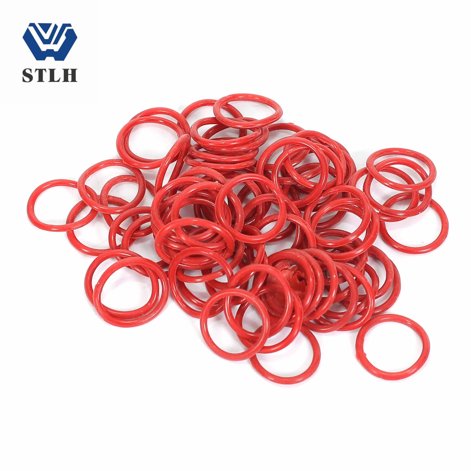 Rubber FKM/ NBR silicon Seal Rings O ring PU/TPU parts with varisized