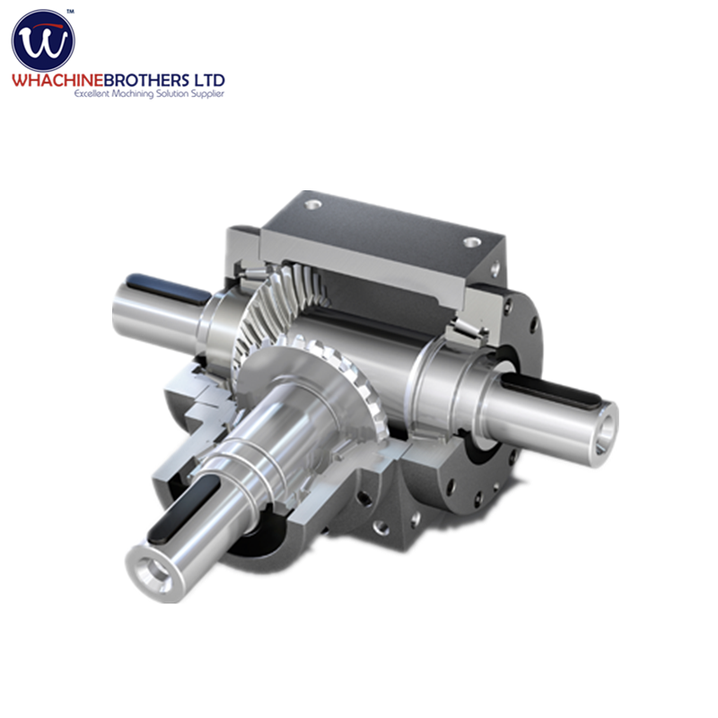 90 degree angle bevel gear reduce drive gearbox