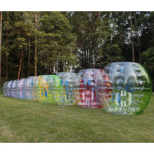 HI New design inflatable bubble soccer, soccer bubble for kids and adult, human bubble ball for foot ball games