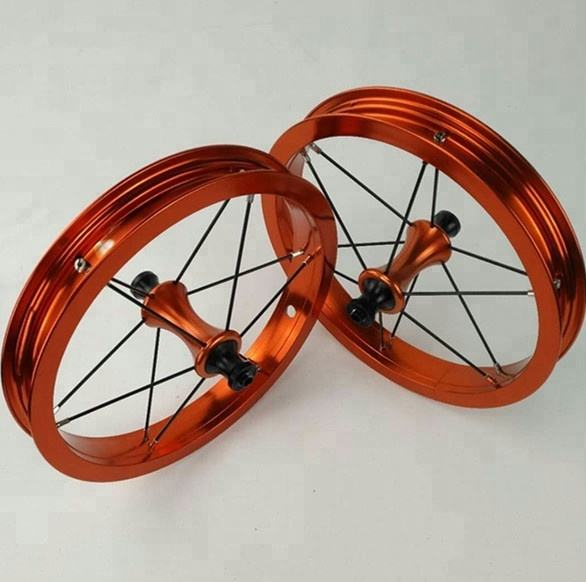 colorful balance bike wheels 12inch