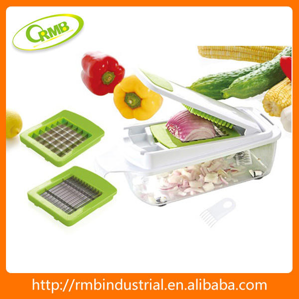 Manual multifuncional para verdura fruta cortador