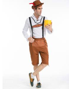 2016 German Trim Theresienwiese Festival Costumi Oktoberfest Birra Wiesen Man Costume