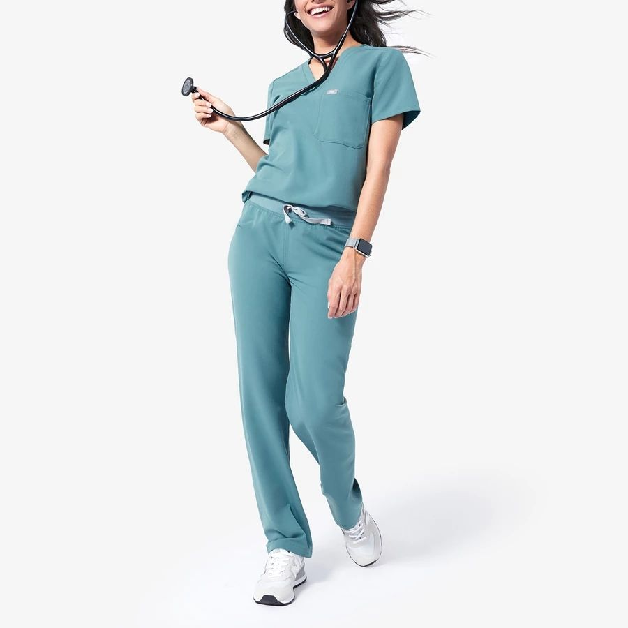 Professional Customized Fashion Spa Beauty Salon Uniform Scrubs