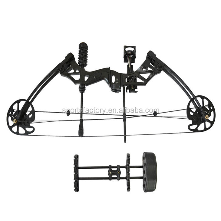 Factory outlet 320fps shooting compound bow sets 35-70lbs let off 80% archery bow for hunting