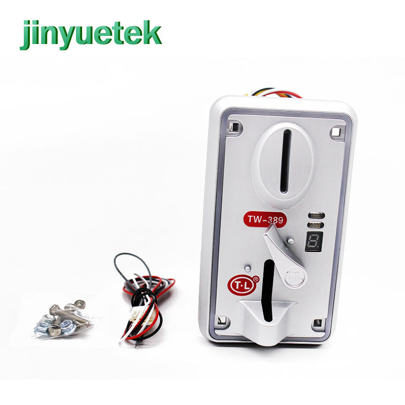 JinYuetek coin acceptor ce cheat changer cctalk coin operated electric timer