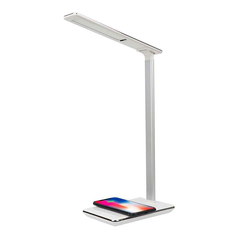 Modern cool design lamp wireless charger adjustable desk lamp led study lamp