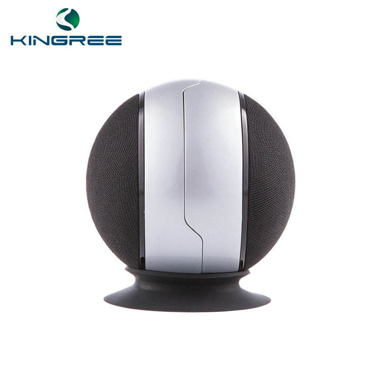 2018 New design best quality 2 bluetooth speakers at once patented round fabric bluetooth speaker