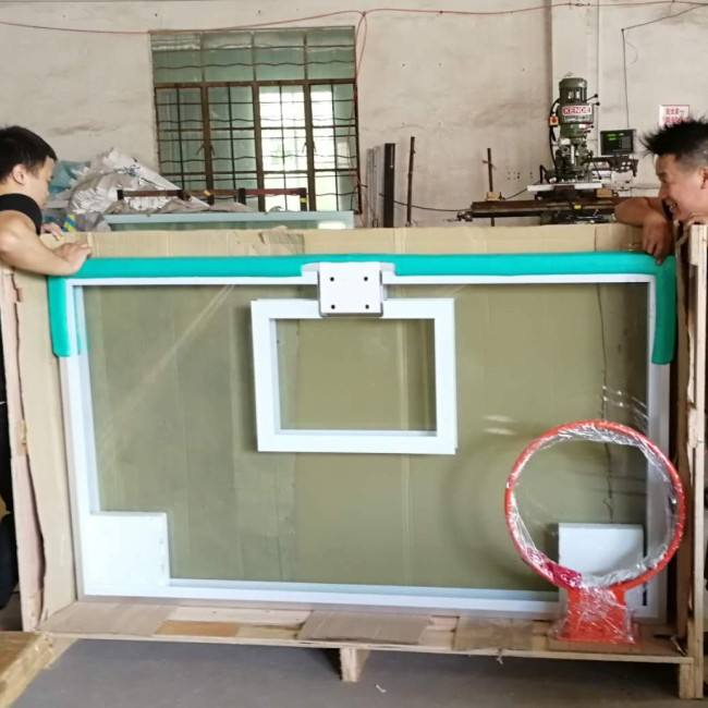 72 inch outdoor replacement basketball backboard with pad