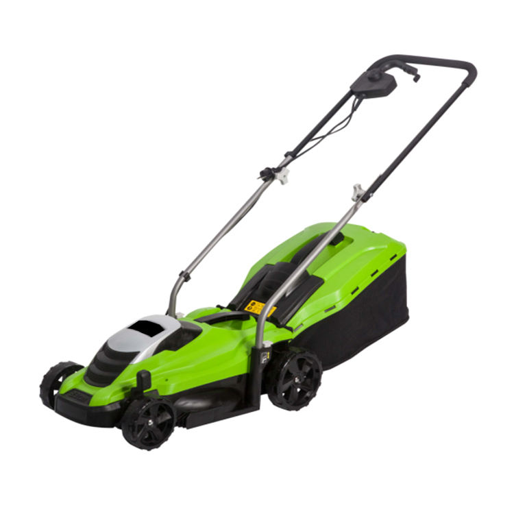 1300w 33cm blade Professional Electric Hand Push belt driver Lawn Mover