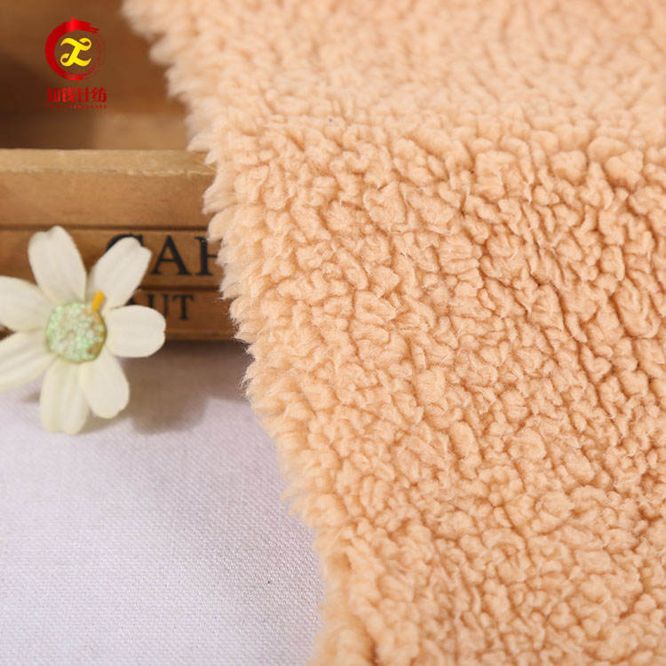 100 polyester knit stretch sherpa fleece blanket material fabric
