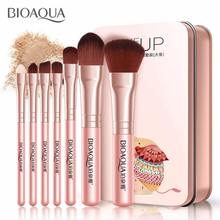 BIOAQUA Park Springs Ya Fine Makeup Brush Set Lip Foundation Makeup Brush Don't Eat Powder Beauty Make-up Tools Set Manufacturer