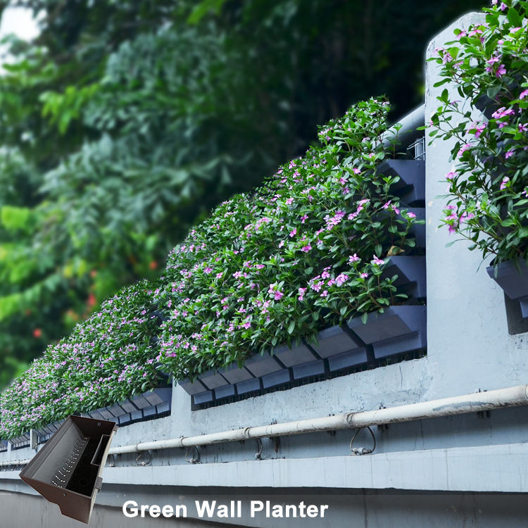 Artificial Vertical Garden Green Wall Self watering Greenwall ABS Plastic Flower planters