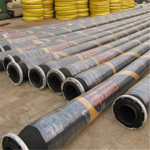 Marine Flexible Oil Transfer Rubber Pipeline Dredging Hose