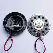 Exporter Hot Sale with low price 57mm 8 ohm 0.5w mini mylar waterproof speaker
