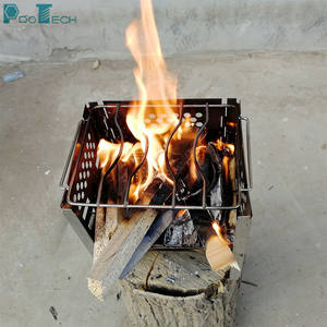 Outdoor french small camping european style epa steel portable wood pellet burning stoves home from poland
