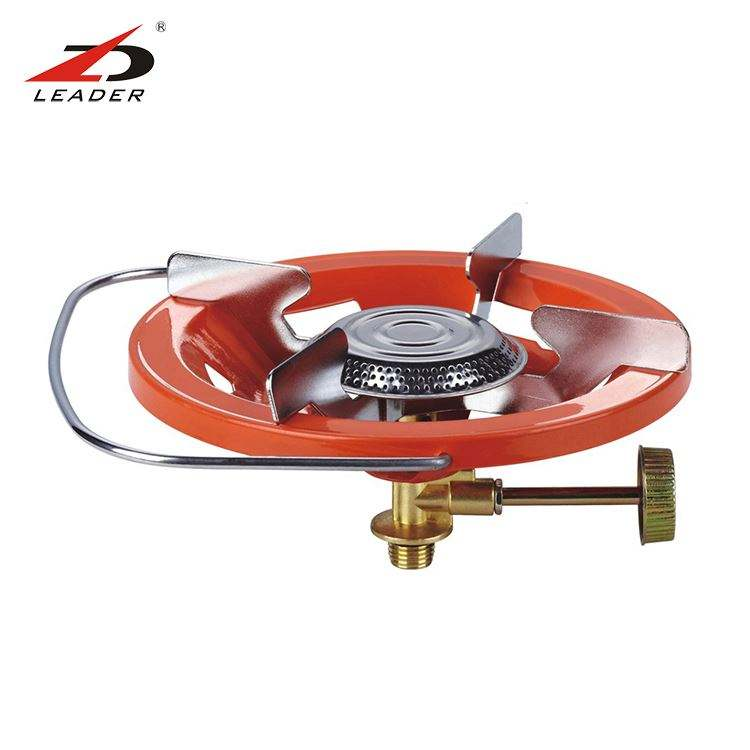 factory direct cheaper price and high quality gas stove LPG gas cooktop camping and home gas cooker DZ-205B
