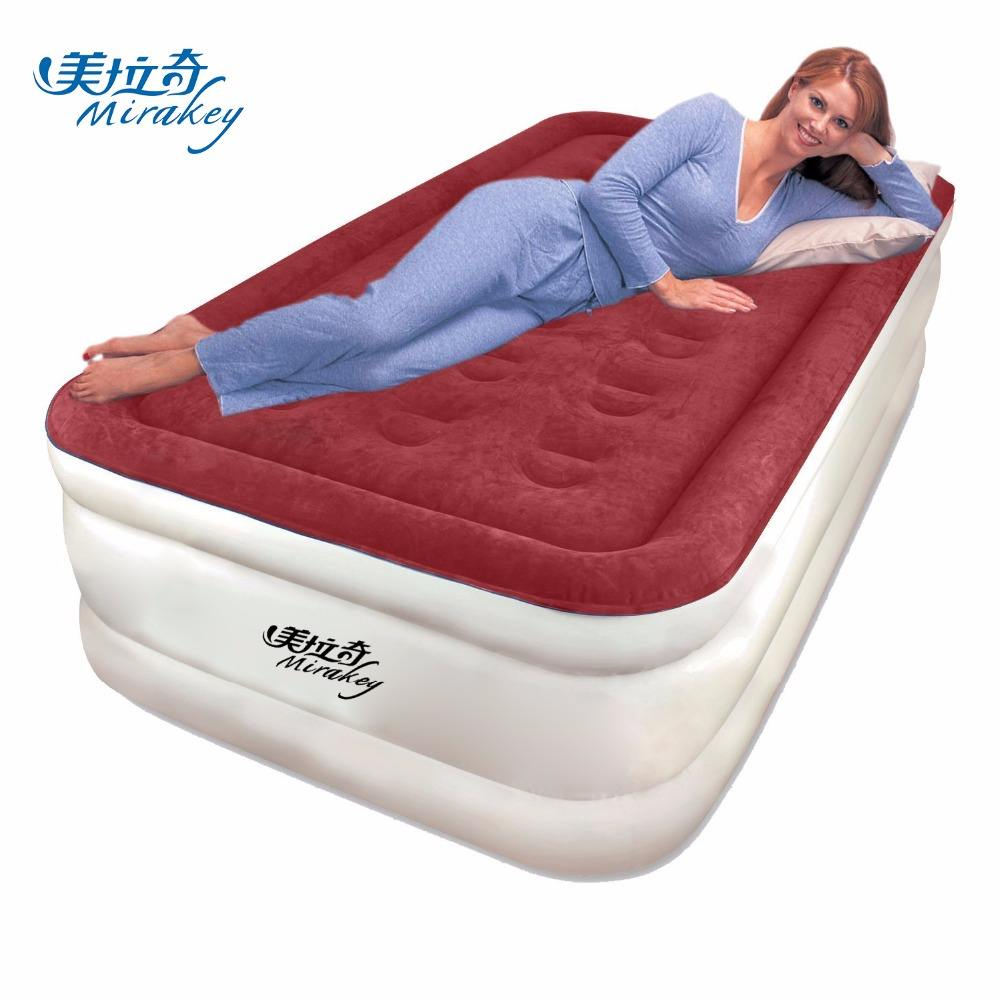 Mirakey airbed Air Mattress Raised Electric Airbed With Built In Pump & Carry Bag Fast Inflation air bed inflatable mattress