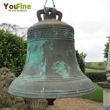 Antique Metal Craft Bronze Church Bell for Sale