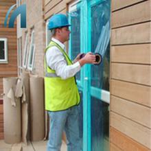 PE Construction Window Film for Dust Scratch Protection