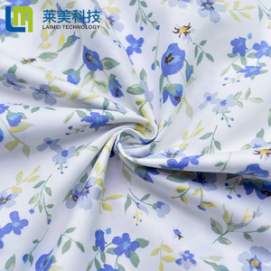 Wholesale 100% Polyester Pigment Printed Textile Fabric For Bed Sheet /Bed Cover  Home Textile