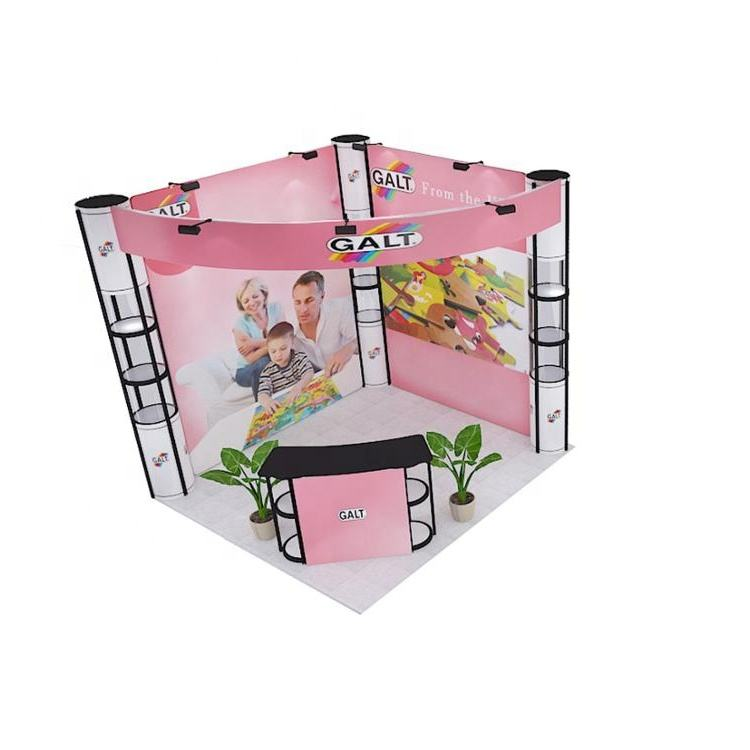 3x3 indoor standard exhibition trade show booth stall