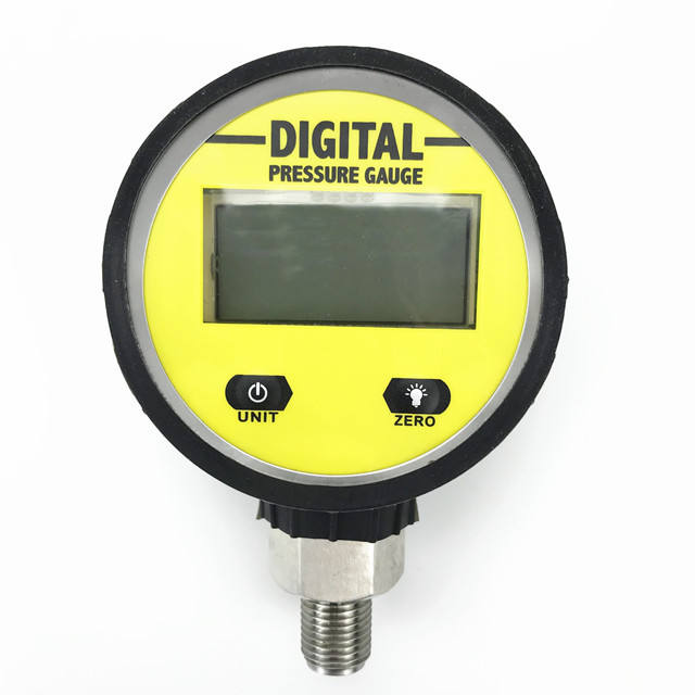 MD-S260 0~250bar Digital air ,water,oil pressure gauge manometer with rubber boots