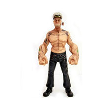 2015 chinese factory custom made handmade carved hot new products resin in action figure of Popeye the Sailor man