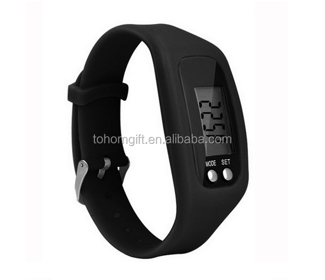 High Quality walking step counter bracelet smart band tracker wristband calorie pedometer