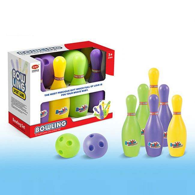 kid toy baby toy Good sale plastic indoor sport set bowling toys for kids playing HC375206