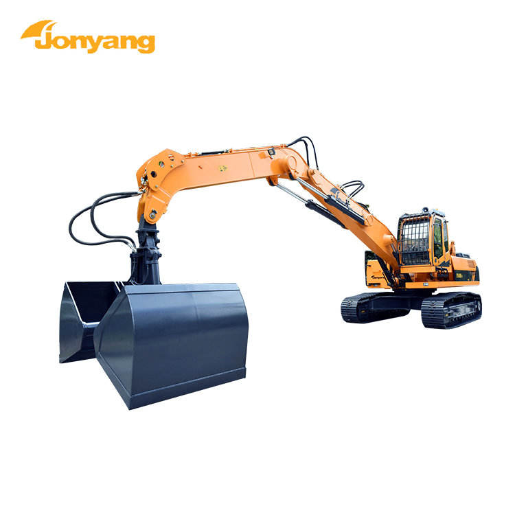 China high quality excavator 2018 crawler scrap handler