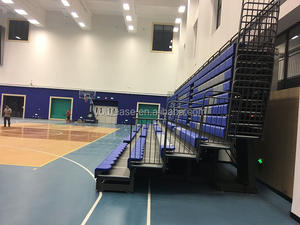Sports indoor retractable grandstand