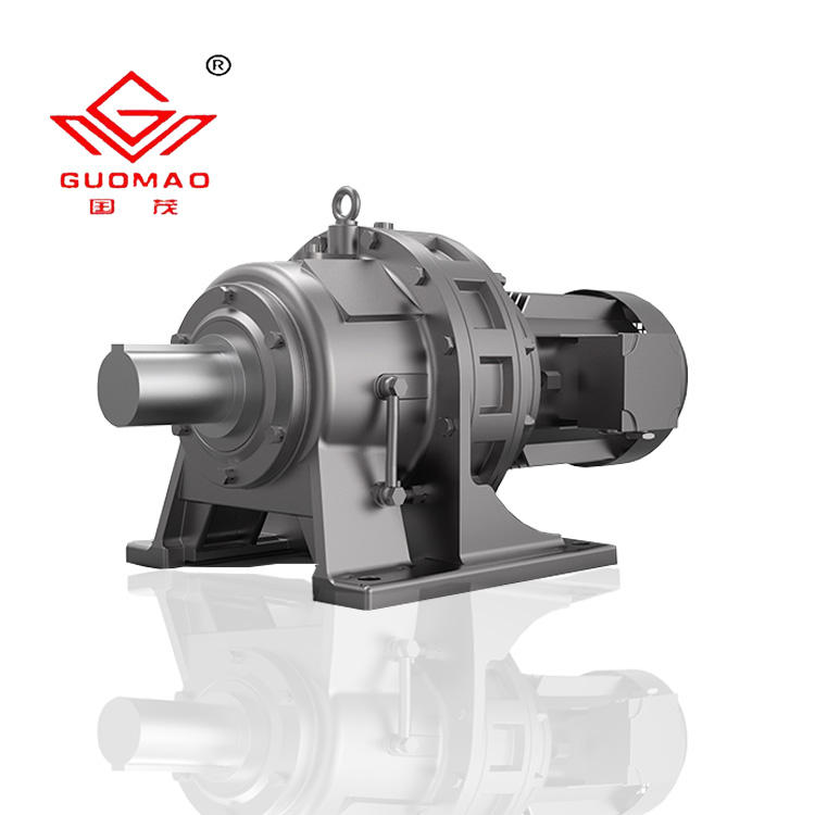 China Guomao B/X bwd3 foot mounted cycloidal gear motor reductor