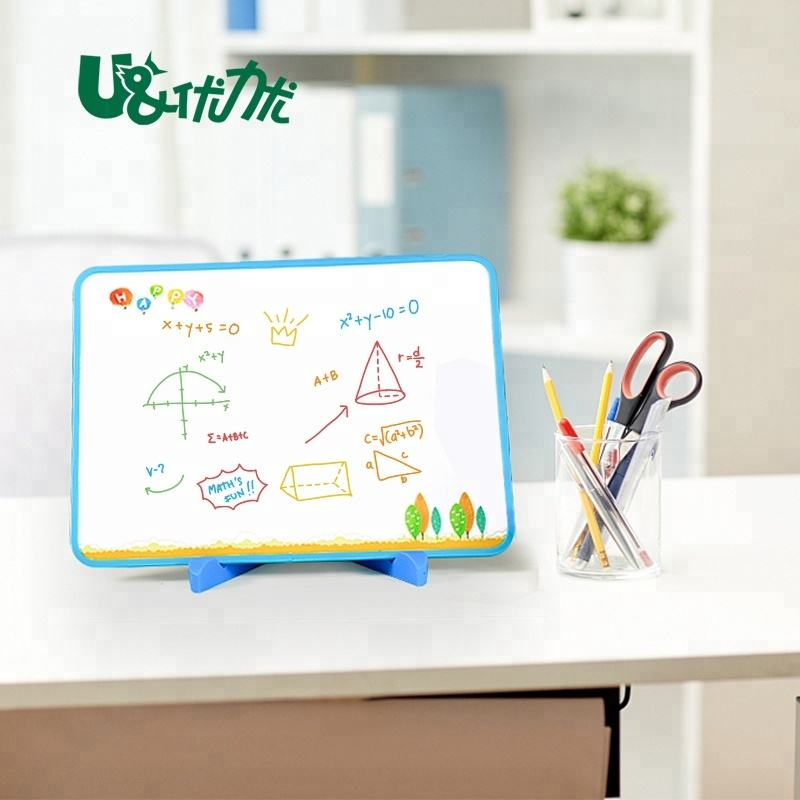 Portable Dry Erase Lapboards student school Learning plain white Board