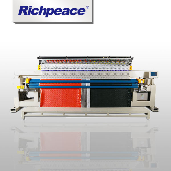 RichpeaceSingle Rolo Colchas e Máquina de Bordar