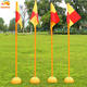 Quality soccer training corner flag, football corner flags