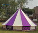 strip luxury bell tent multicolor bell tent