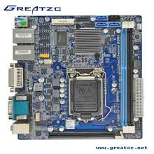 B85 high-speed Motherboard I3/I5/I7 Dual LAN Motherbaord With 4SATA,10USB,6COM, POS/ATM PC Station Mini Itx Motherboard