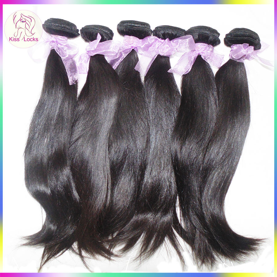 Best Hair Products of Alibaba 8-30 inches Sweety Angels Straight Virgin Hair Weave Remy Indonesian Human Hair