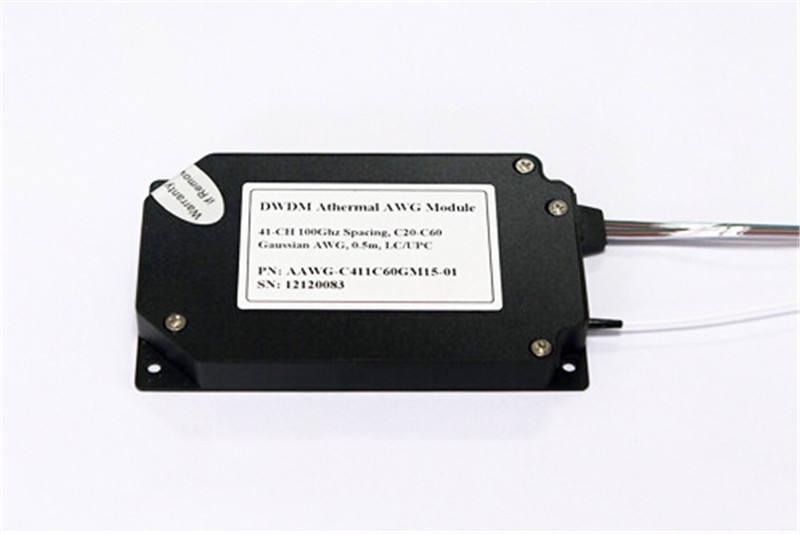 AWG teknolojisi DWDM 40 kanal cwdm mux/demux SC/UPC