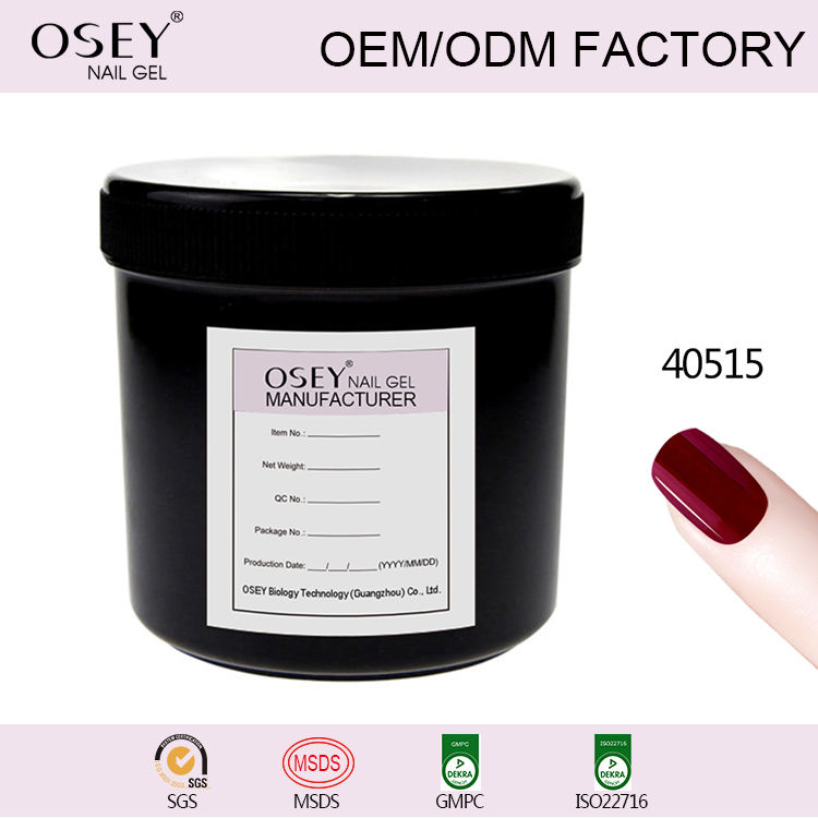 OSEY private label oem Cina Fabbrica Nail art 3 passo 7.3 ml rimovibile gel UV nail polish nail fornitura